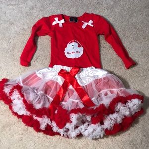 Other - Santa Outfit. 3T